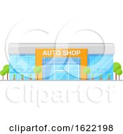 Auto Shop Store Front by Vector Tradition SM