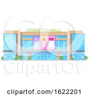 Cosmetics Mall Store Front by Vector Tradition SM