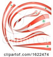 Poster, Art Print Of Lebanon Flag Design Elements