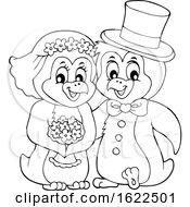 Penguin Wedding Couple
