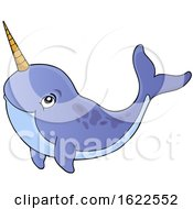 Swimming Narwhal