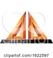 Orange 3d Pyramid