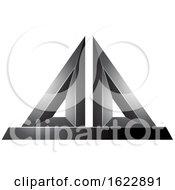 Black 3d Pyramid