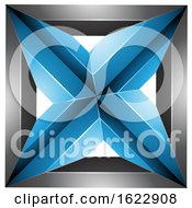 Blue And Black Square by cidepix