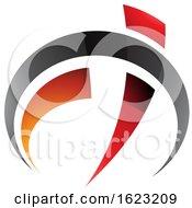 Black Red And Orange Gauge Like Letters F And T