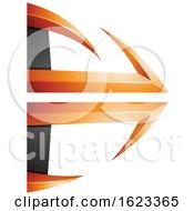 Orange And Black Bow And Arrow