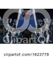 Poster, Art Print Of Generative Robot - 3d Illustration