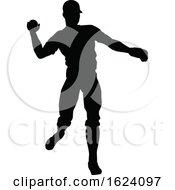 Baseball Player Silhouette