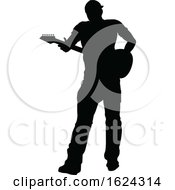 Musician Guitarist Silhouette by AtStockIllustration