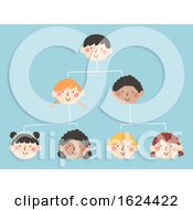 Kids Organizational Structure Illustration