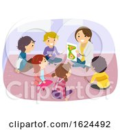 Stickman Kids Room Group Counseling Illustration by BNP Design Studio