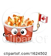 Poster, Art Print Of Mascot Food Canada Poutine Illustration