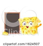 Mascot Cheese Board Illustration
