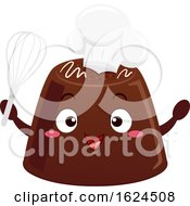 Mascot Chocolate Chef Illustration