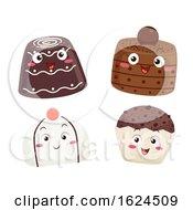 Mascot Chocolates Illustration