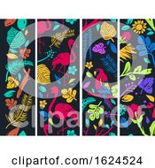 Poster, Art Print Of Tropical Banners Illustration