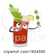 Mascot Canada Caesar Drink Illustration