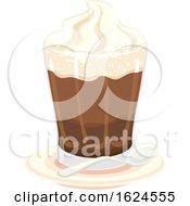 Drinks Austria Einspanner Coffee Illustration