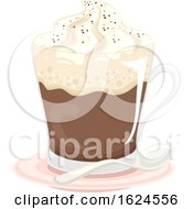 Drinks Austria Kaisermilange Illustration