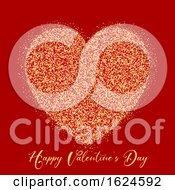 Poster, Art Print Of Valentines Day Glitter Heart