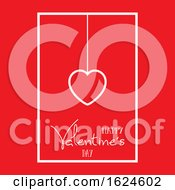 Poster, Art Print Of Valentines Day Heart Background