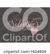 Poster, Art Print Of Decorative Happy Valentines Day Background