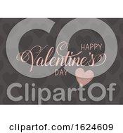 Decorative Happy Valentines Day Background