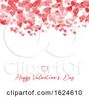 Poster, Art Print Of Decorative Valentines Day Heart Background