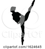 Poster, Art Print Of Ballet Dancer Dancing Silhouette