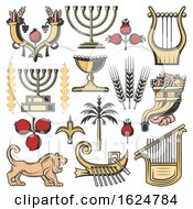 Poster, Art Print Of Jewish Icons