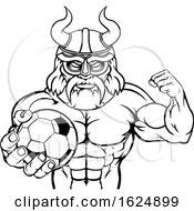 Poster, Art Print Of Viking Soccer Football Sports Mascot