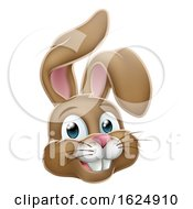 Poster, Art Print Of Easter Bunny Rabbit Face Cartoon