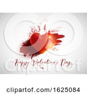 Poster, Art Print Of Grunge Valentines Day Background
