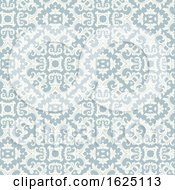 Vintage Style Background With A Damask Pattern