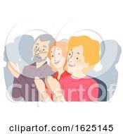 Seniors Citizen Convention Illustration