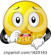 Smiley Mascot Impetigo Illustration
