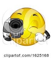 Poster, Art Print Of Mascot Smiley Video Camera Illustration
