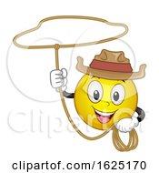 Smiley Cowboy Rope Illustration by BNP Design Studio