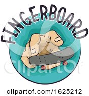 Hand Fingerboard Illustration
