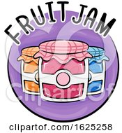 Icon Fruit Jam Illustration