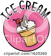 Icon Ice Cream Illustration