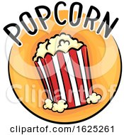 Icon Popcorn Illustration