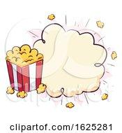 Popcorn Pop Board Illustration