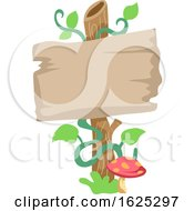 Poster, Art Print Of Fairy Garden Sign