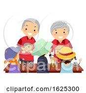 Poster, Art Print Of Stickman Kids Festival Seniors Carpenter Wood Toys