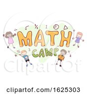 Stickman Kids Math Camp Illustration