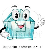 Mascot Green House Ok Illustration