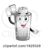 Mascot Cocktail Shaker Illustration