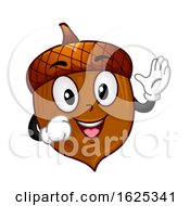 Mascot Acorn Illustration