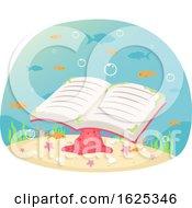 Under Water Book Illustration